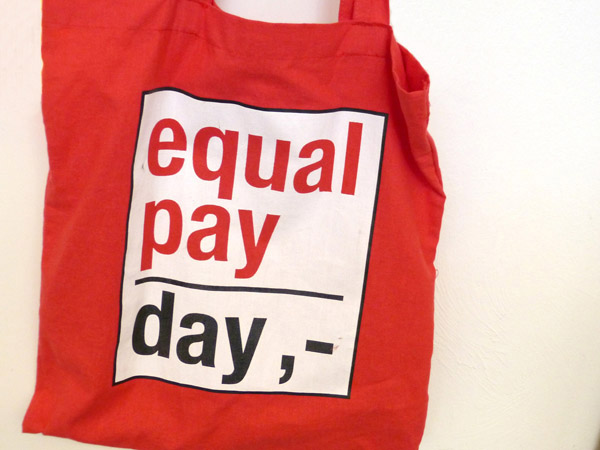 Equal Pay Day tasche 21.März 2013