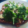 selbstgemachte lowcarb pizza