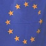 Europaflagge mit Sternen