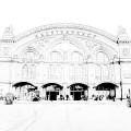 Skizze des Bremer Hauptbahnhofs