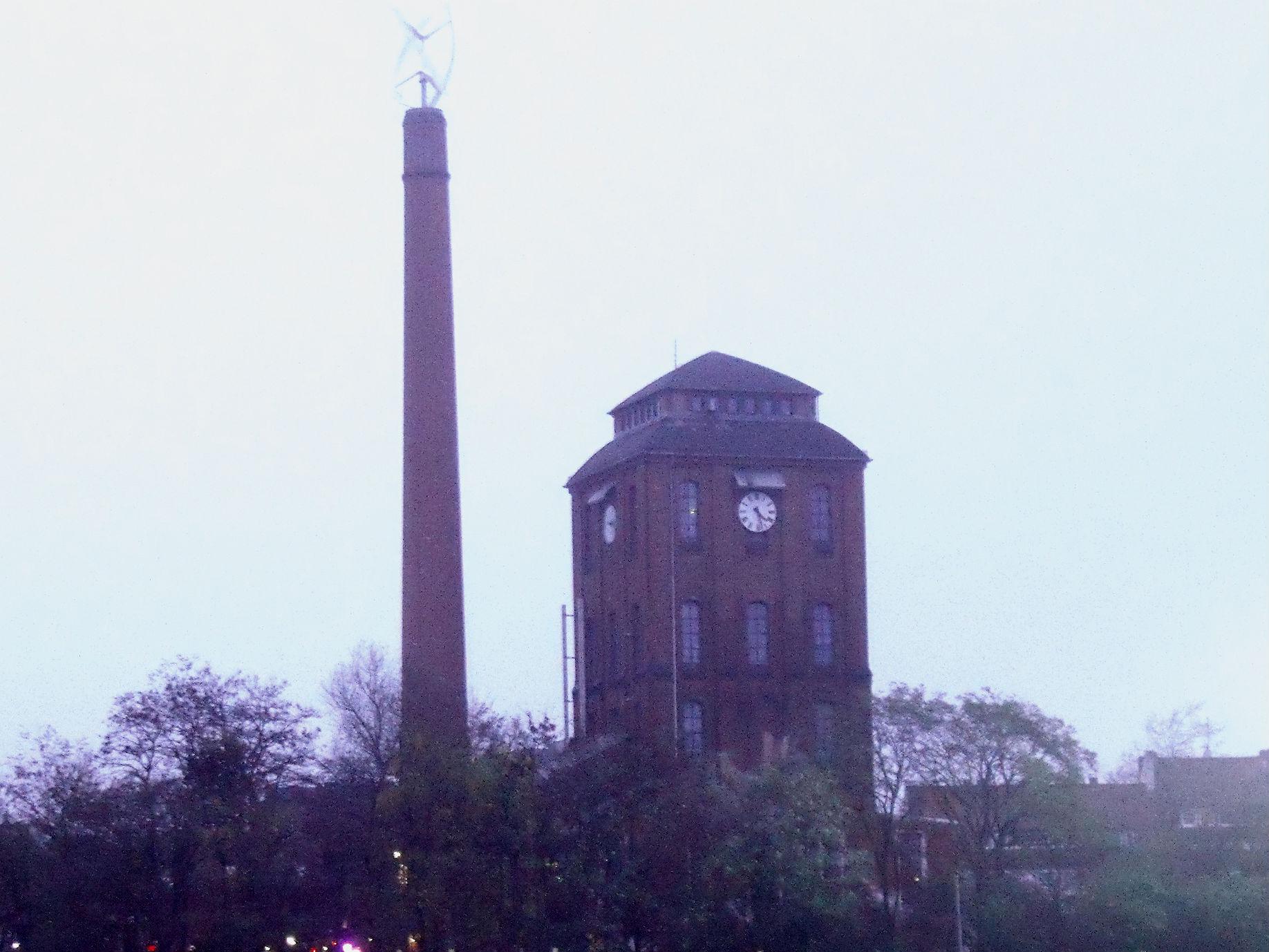 Schlachthof, Gebäude mit Turm