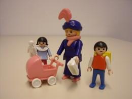 Playmobilfigur: Mutter mit Kindern