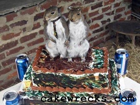 Bitte sag mir dass die Eichhörnchen tot sind