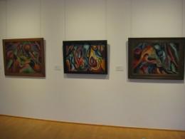 drei Bilder von Wilhelm Morgner