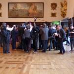 Reportergruppe beim Schaffermahl 2015