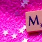 Scrabble Buchstabe M