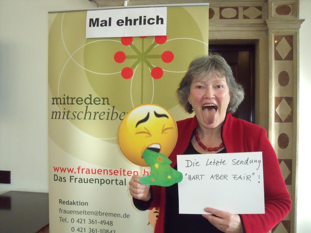 Emoticons vom 08. März - frauenseiten.bremen