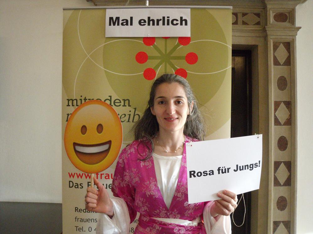 Rosa für Jungs!