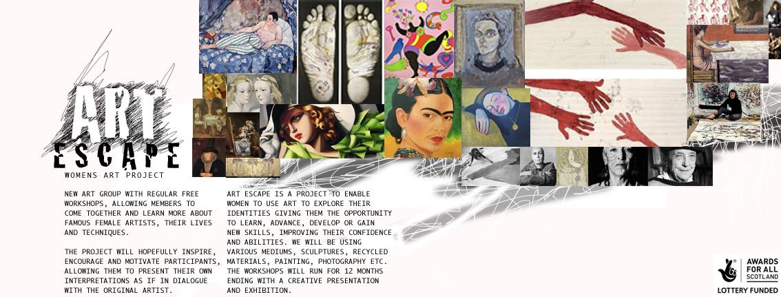 Ausschnitt vom Blog Art Escape