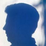 Schatten eines Kopfes