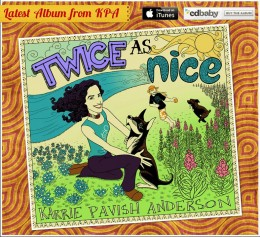 """Twice as nice"" - neues Album von Karrie Pavish Anderson"