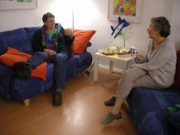 Frau Lenz und Frau Müller vom Team (c) Frau Thein