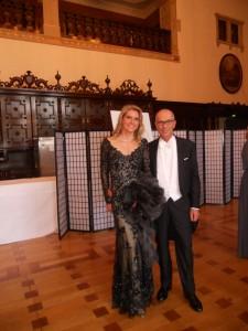 Schaffer Joachim Linnemann mit Ehefrau im Festsaal