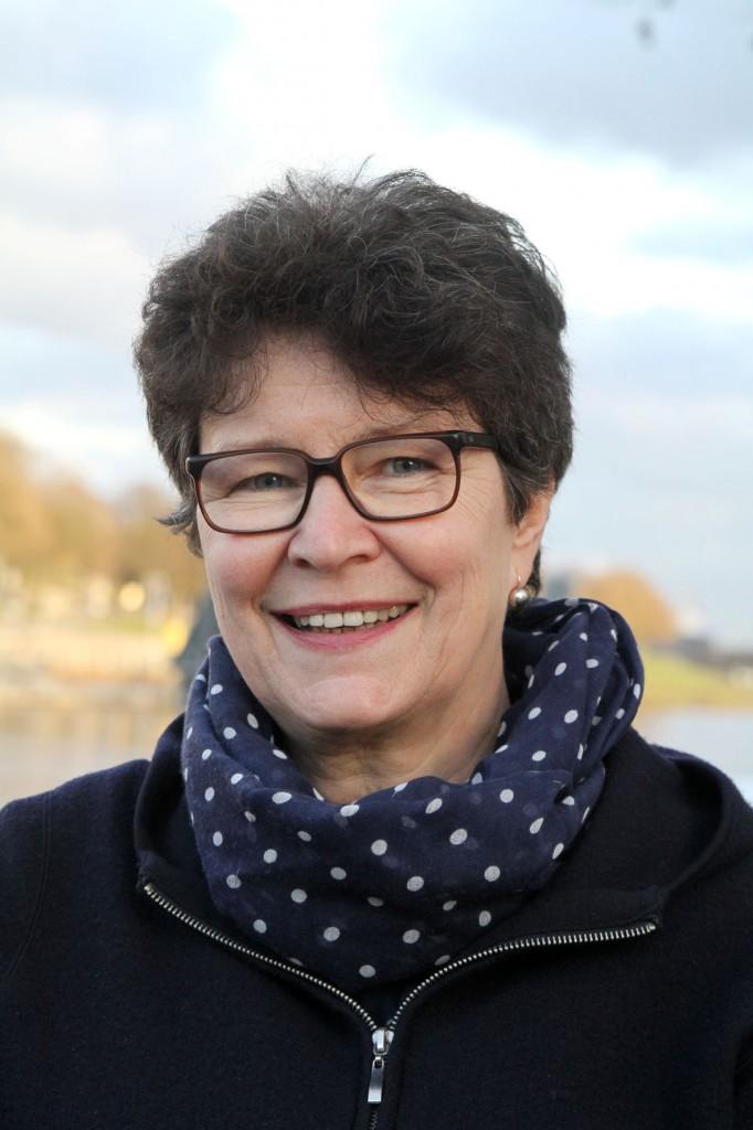 Ein Portraitfoto von Inge Danielzick.