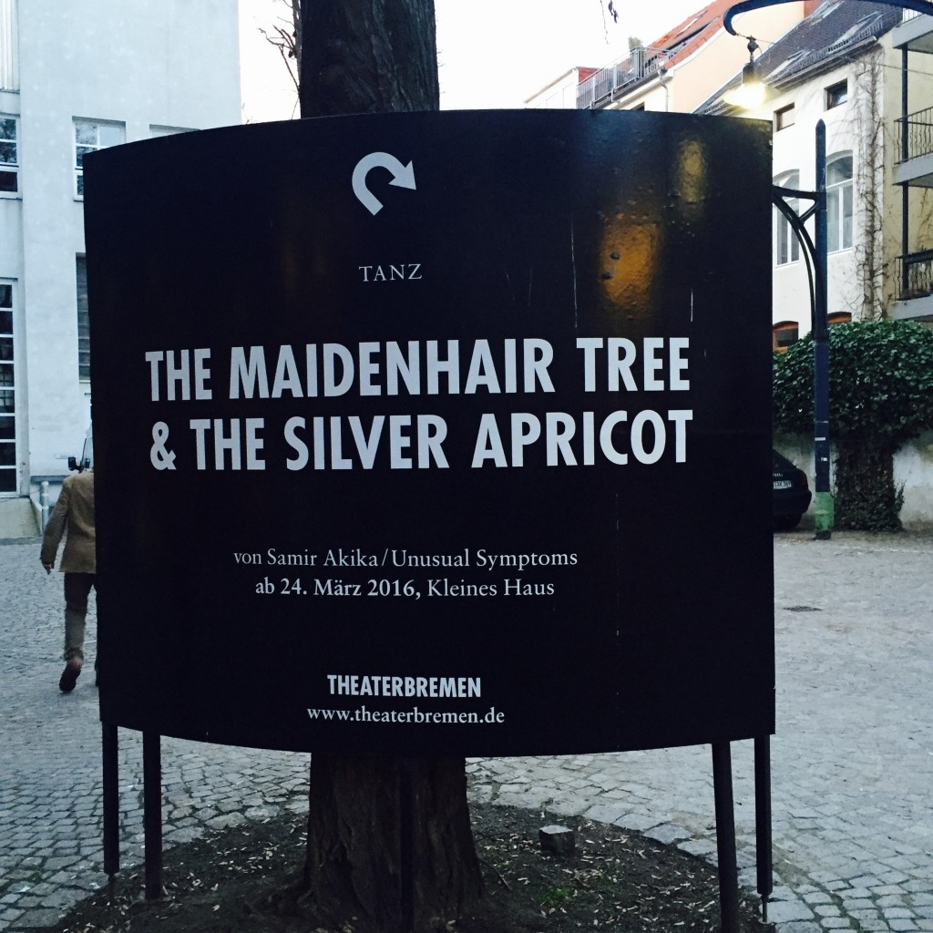 Tanztheater: The Maidenhair Tree & The Silver Apricot