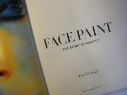 Die Umschlagsseite von face paint von Lisa Eldridge