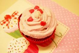 pink muffins mädchen süß herz liebe geschenk