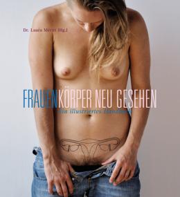 Buch cover mit weiblichen Geschlechtsteilen