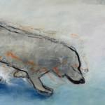 Ulrike Leopold, Hund im Schnee
