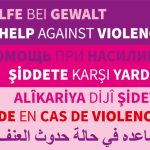 Banner in unterschiedlichen Sprachen