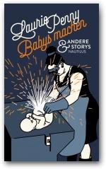 Buch Cover mit einer Frau mit ein Werkzeug und Baby