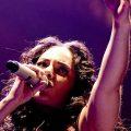 Alicia Keys beim Auftritt