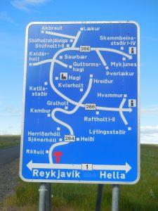 Straßenschild der Höfe der Region © Rieke Bubert