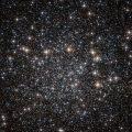 Blick des Hubble Teleskops auf eine Galaxie
