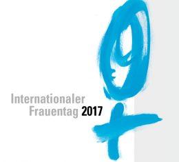 Logo mit hellblauem Frauenzeichen