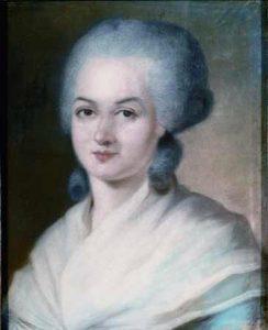 Potrait von Olympe de Gouges