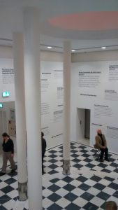 Erster Raum der Ausstellung