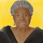 Illustration von Maya Angelou