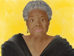 Illustration von Maya Angelou