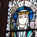 Kirchenfenster das Emma von Lesum zeigt