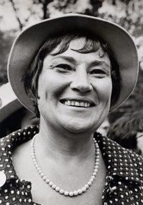 Portrait von Bella Abzug