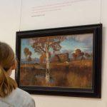 Herbst im Moor - Bild von O. Modersohn