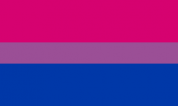 Flagge Bisexualität