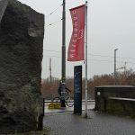 Die Werbeflagge der Weserburg