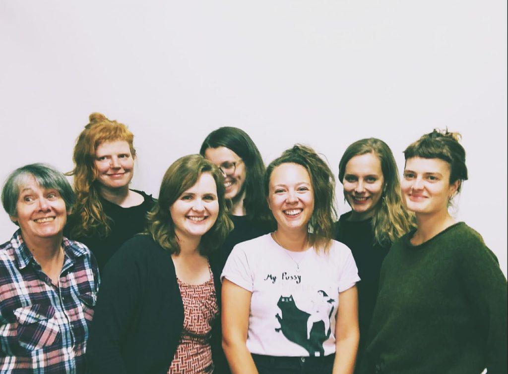 Sieben Frauen aus dem Team der Redaktion
