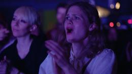 Zuschauerin des Films