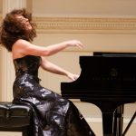 Cristiana Pegoraro am Klavier