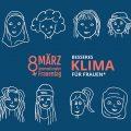 Logo Internationaler Frauentag 2020 mit dem Motto Besseres Klima für Frauen*