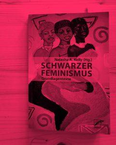 """Zu sehen ist das Buch """"Schwarzer Feminismus"""", pink eingefärbt"""