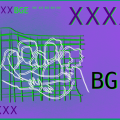 Zeichnung von sich umarmenden Figuren und der Schriftzug BGE, Abkürzung für Bedingungsloses Grundeinkommen