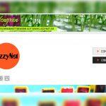 Bildschirmfoto vom Portal lizzynet