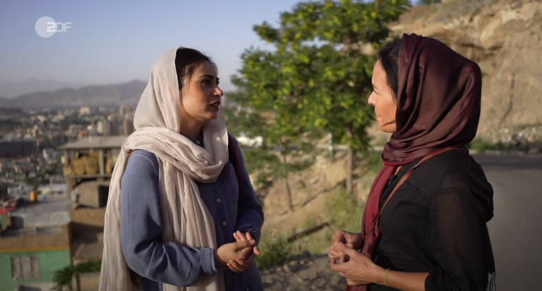 Interview mit einer Afghanin in Kabul