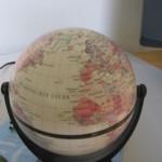 Globus, Europa und Afrika