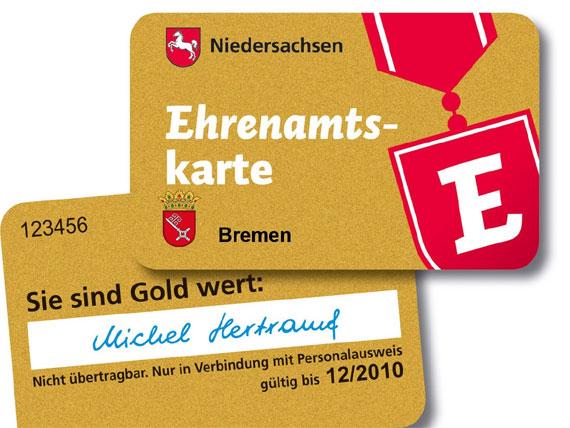 Goldene Plastikkarte