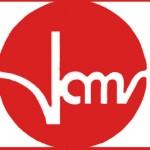 Verband alleinerziehender Mütter und Väter Weisser Schriftzug auf rotem Kreis