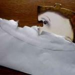 Briefumschlag mit Puzzleteil
